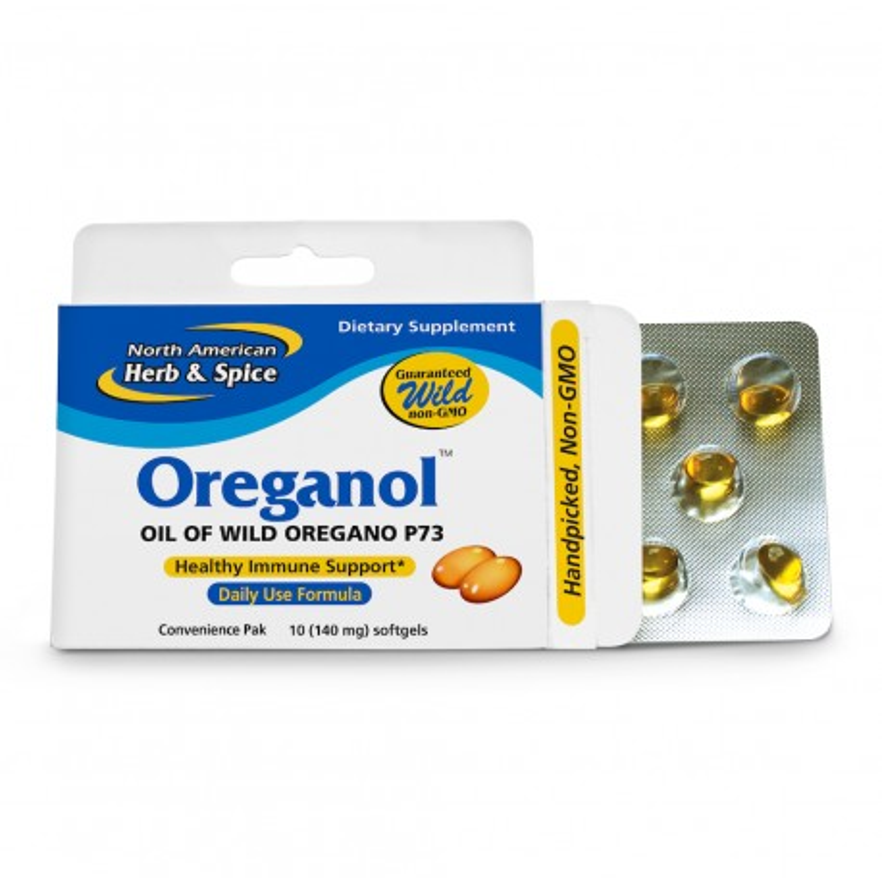 Vild Oregano Olja 10 kapslar