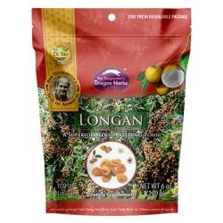 Dragon Herbs Longan Frukt torkad