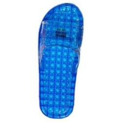 Massagetofflor blå 36-37