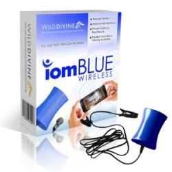 Wild Divine IomBlue Biofeedback Sensor (Wireless for iOS)