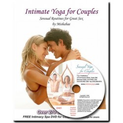 Intimate Yoga for Couples bok & DVD