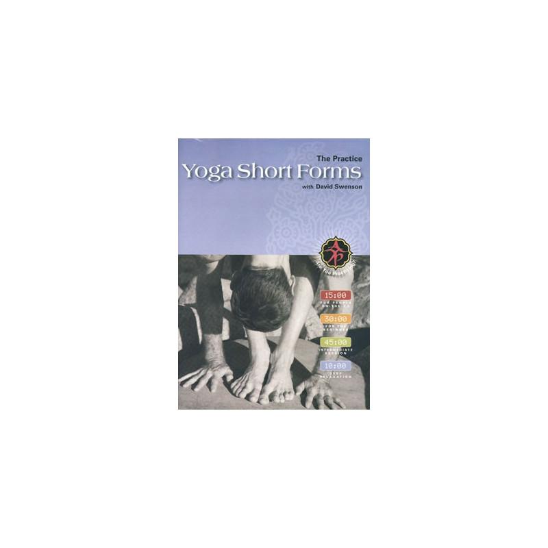 Yoga Short Forms with David Swenson DVD