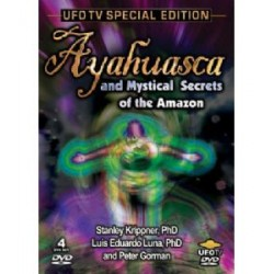 Ayahuasca & Mystical Secrets of The Amazon 4 DVD
