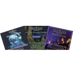 Tre fibromassage CD Masterworks, Inner Journey & Sleeping Through the Rain